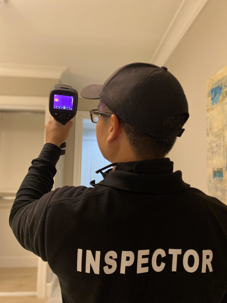 infrared home inspector - BC Canada